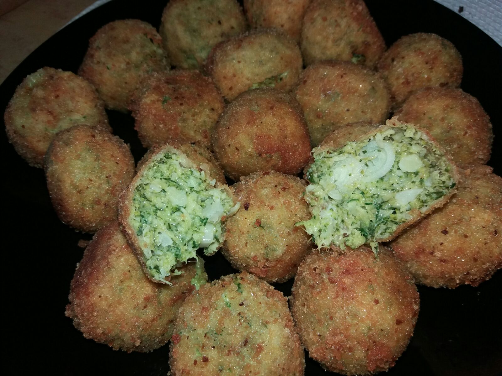 Broccoli pane