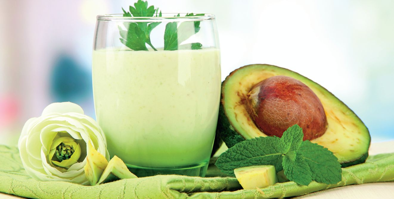 Smoothie cu avocado